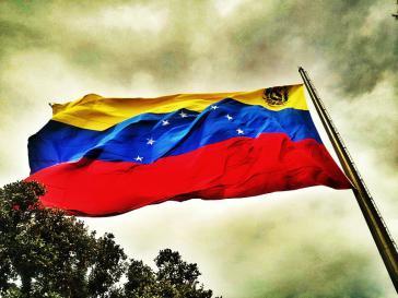 Die Flagge Venezuelas