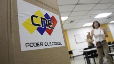 Logo der Wahlbehörde CNE in Venezuela