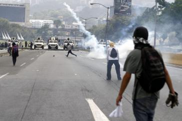 Demonstration in Venezuela: Seit April kamen rund 130 Menschen zu Tode