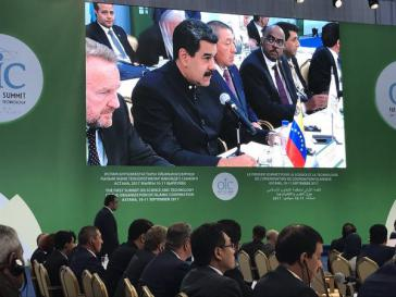 Der Präsident von Venezuela, Nicolás Maduro, nahm am Gipfeltreffen islamischer Staaten in Kasachstan teil