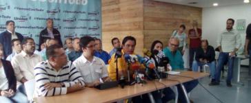 Oppositionspolitiker Carlos Paparoni kündigt Proteste in Venezuela an
