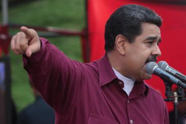 Präsident von Venezuela. Nicolás Maduro