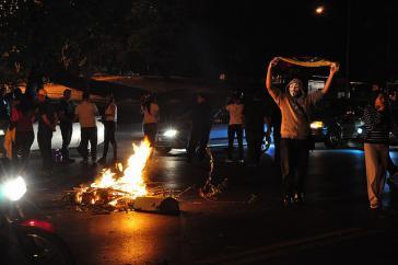 Gewalttätige Ausschreitungen der Opposition in Venezuela