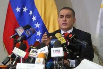 Ombudsmann Tarek William Saab informierte über das Ausmaß der Gewalt in Venezuela
