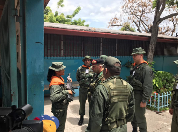 Die Armee in Venezuela sichert die Wahllokale mit mehr als 200.000 Militärs