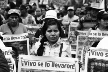 In den vergangenen 20 Jahren hat die Nationale Menschenrechtskommission Mexikos 57.681 Fälle von Verschwundenen registriert
