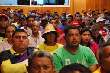 """""""Niemand kann leugnen, dass in Venezuela ein neues revolutionäres Subjekt geschaffen wurde"""". (Beim ersten landesweites Treffen der Comunas in Venezuela, Mai 2013)"""