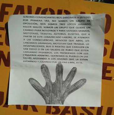 """""""Granaten in geöffnete Geschäfte"""" und andere Drohungen"""