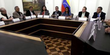 Sitzung der Wahrheitskommission in Venezuela