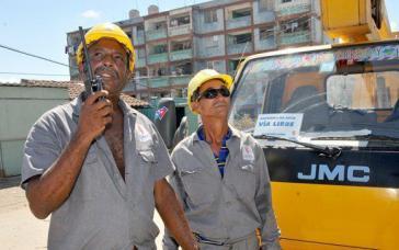 """Mittlerweile ist die Strom- und Wasserversorgung in Kuba nach dem Wirbelsturm """"Irma"""" fast überall wiederhergestellt"""