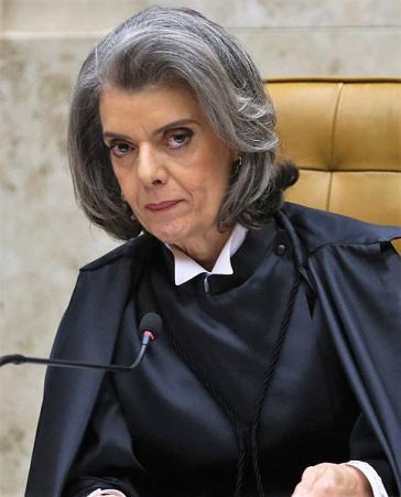 Präsidentin des Obersten Gerichtshofs (STF), Cármen Lúcia