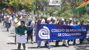 Mehrere Berufsgruppen solidarisieren sich mitterweile mit den Ärzten und ihrem Streik in Bolivien