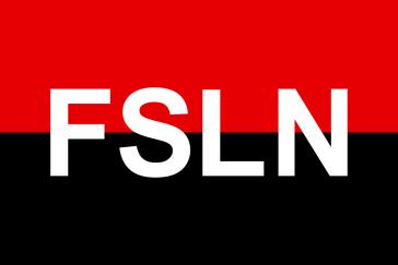 Fahne der Frente Sandinista de Liberación Nacional , Nicaragua