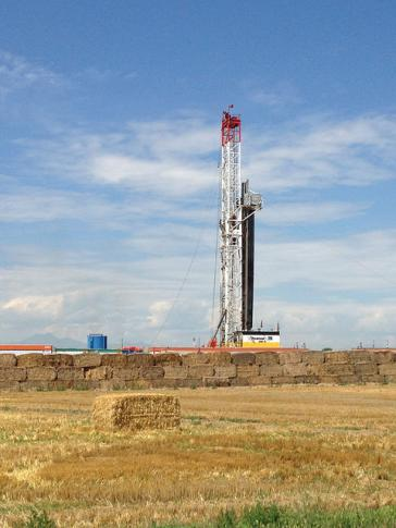 Fracking, wie hier in Colorado, USA, ist als Methode zur Förderung von Erdgas höchst umstritten