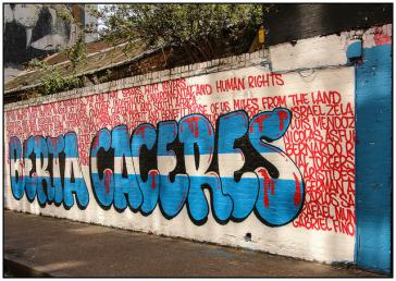 Morde wie der an der Umweltaktivistin Berta Caceres in Honduras sollen durch ein neues Abkommen besser verhindert werden können