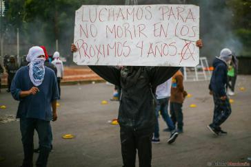 Die Proteste gegen das offizielle Wahlergebnis und Präsident Hernández gehen in Honduras unvermindert weiter