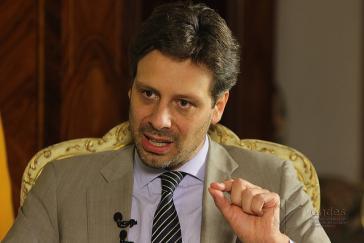 Guillaume Long ist von seinem Amt als ständiger UN-Vertreter von Ecuador zurückgetreten