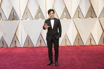 """Der Schauspieler Gael García Bernal, hier bei der Oscar-Verleihung im vergangenen Jahr, beklagt vor der UNO """"Normalisierung"""" der Gewalt in Mexiko"""