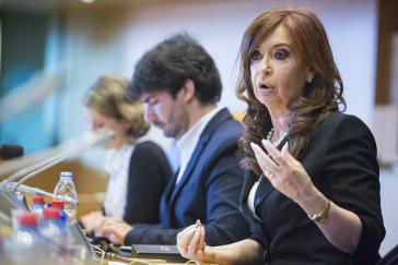 Gegen die ehemalige argentinische Präsidentin Cristina Fernández de Kirchner wurde erneut Untersuchungshaft beantragt
