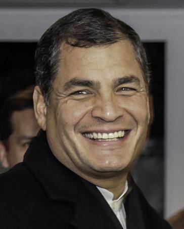 Der ehemalige von Ecuador Präsident Correa lebt mit seiner Familie in Belgien