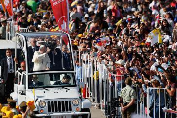 Viele Menschen kamen zu den Messen des Papstes in Chile, auch wenn er nicht nur mit offenen Armen empfangen wurde