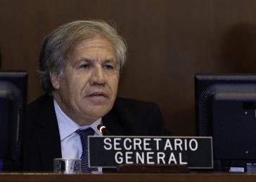 Der Generalsekretär der Organisation Amerikanischer Staaten (OAS), Luis Almagro, übt Druck auf die Regierung Nicaraguas aus