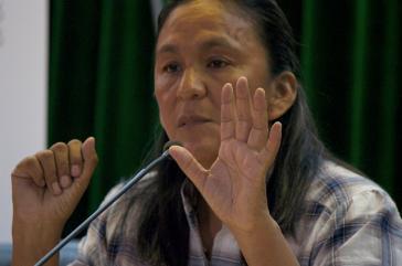 Die Aktivistin Milagro Sala sitzt seit mittlerweile zwei Jahren in in Argentinien in Untersuchungshaft. Nun gab es erneut Proteste