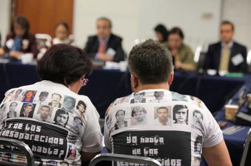 In Mexiko suchen seit Jahren Angehörige Verschwundene, wie zur Zeit in Nuevo Laredo