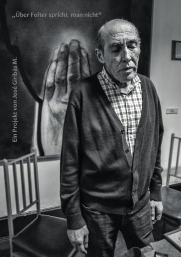 Samuel Houston D., in der ehemaligen Klinik Santa Lucia, 19. Oktober 2016, Santiago de Chile