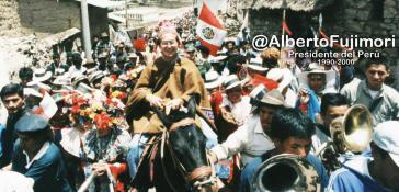 Titelbild des Twitter-Accounts von Alberto Fujimori, den er seit 2013 betreibt