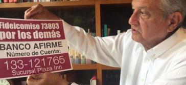 """Der Solidaritätsfonds """"Por los demás"""" wurde für illegal erklärt. Amlo kritisiert das Urteil scharf"""