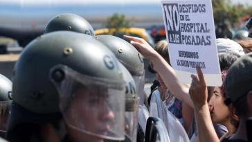 Proteste gegen Entlassungen in Argentinien