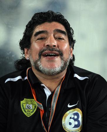 Von sich überzeugt: Diego Maradona