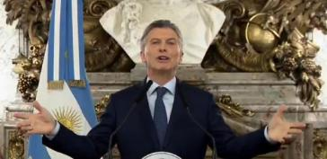 Gerade nicht so erfolgreich: Argentiniens Präsident Mauricio Macri