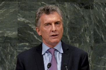 Argentiniens Präsident Macri will Venezuela vor den Internationalen Gerichtshof bringen