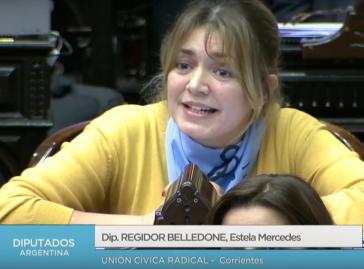 Verglich ungewollte Kinder mit Welpen: Abgeordnete Estela Regidor
