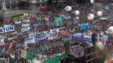 Protestmarsch am 17. September in der argentinischen Hauptstadt gegen die drastischen Kürzungen im Bildungsbereich