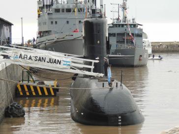 Die ARA San Juan aus Argentinien in einer Aufnahme aus dem Jahr 2007