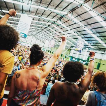 Lebhafte Diskussionen und eine kämpferische Stimmung prägten das Weltforum in Argentinien