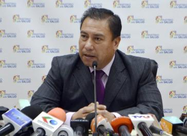 Boliviens Gesundheitsminister Rodolfo Rocabado berichtete über die staatlichen Investitionen in den Gesundheitssektor