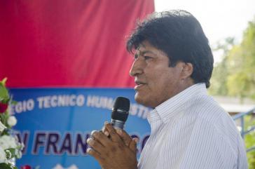 Übt Kritik an Teilen des Klerus in Bolivien: Präsident Evo Morales
