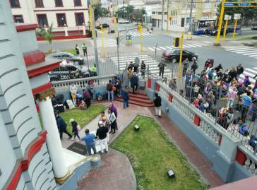 Die Botschaft von Venezuela in Perus Hauptstadt Lima organisiert die Rückführung der Migranten