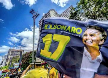 Anhänger von Bolsonaro in Brasilien beim Wahlkampf