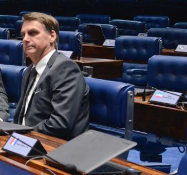 Kandidat Jair Bolsonaro in Brasilien