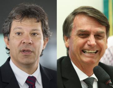 Haddad und Bolsonaro werden sich in der Stichwahl wiedersehen