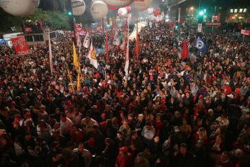 Massive Unterstützung für Lula 2017. Nun wollen Teile der Justiz seine Kandidatur verhindern