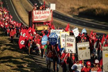Marsch für die Freiheit von Lula da Silva
