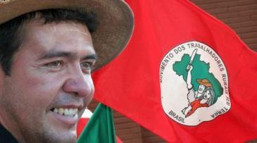 Der ermordete Aktivist der brasilianischen Landlosenbewegung MST, Valmir Mota de Oliveira