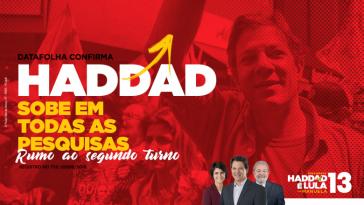Legt in Umfragen zu: Fernando Haddad von der Arbeiterpartei Brasiliens