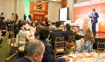 Ecuadors Minister für Außenhandel, Pablo Campana, hat auf einer Konferenz für Investoren den Beitritt zur Pazifik-Allianz angekündigt